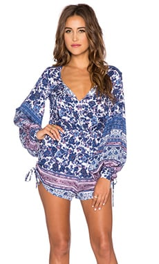AUGUSTE Heavenly Creatures Romper in Royal