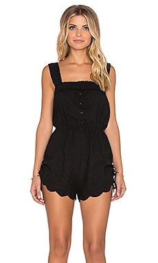 AUGUSTE Sweet As Pie Playsuit in Midnight