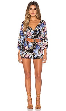 AUGUSTE Roaming Romper in Texan Bloom Midnight