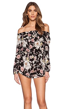 AUGUSTE Gypsy Romper in Night Bloom