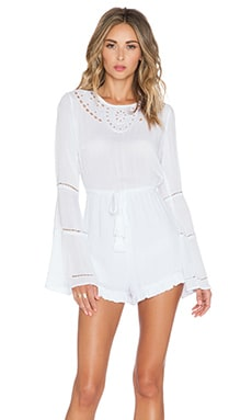 AUGUSTE Bella Romper in White