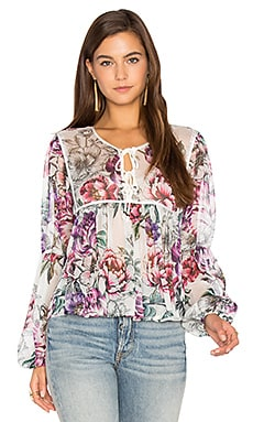Boho is Best Sheer Top en Hazel Blossom Natural