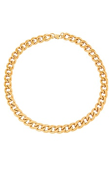 Mia Large Curb Chain Necklace AUREUM $158