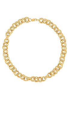 Parker Double Cable Chain Necklace AUREUM $148