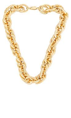 Stella Large Link Necklace AUREUM $125