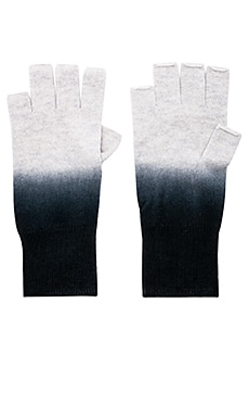 Dip Dye Fingerless Gloves