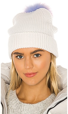 Unicorn Pom Pom Hat Autumn Cashmere $150