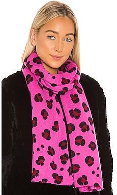 Leopard Print Wrap Autumn Cashmere $240