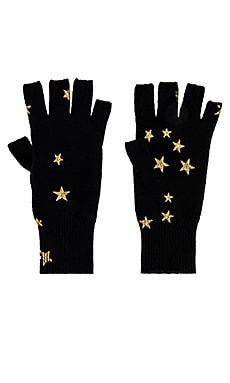 Printed Stars Gloves Autumn Cashmere $120 NEW ARRIVAL