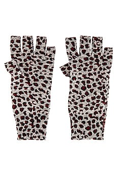 Leopard Print Gloves Autumn Cashmere $120