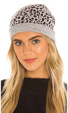 Leopard Print Hat Autumn Cashmere $120