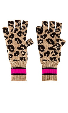 Sporty Fingerless Gloves Autumn Cashmere $128 NEW