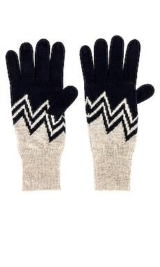 Chevron Gloves Autumn Cashmere $115