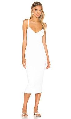 Scallop Edge Cami Dress Autumn Cashmere $341 BEST SELLER