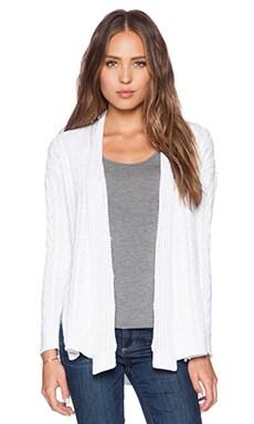 Autumn Cashmere Multi Stitch Sweater in Bleach White