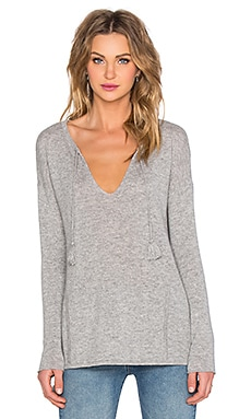 Autumn Cashmere Baja Pullover in Sweatshirt