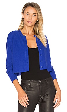 Crop Boxy Cardigan in Pennant