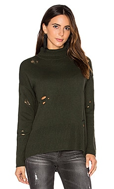 Distressed Sweater in Cypress