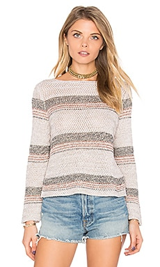 Chevron Crop Sweater