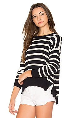 Striped Hi Lo Sweater
