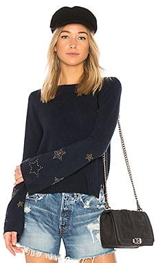 Star Bell Sleeve Sweater