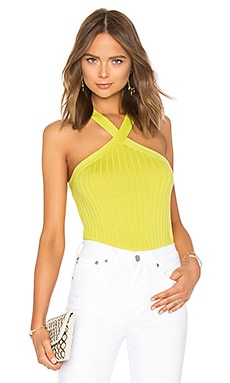 Rib Crisscross Halter Autumn Cashmere $121 BEST SELLER