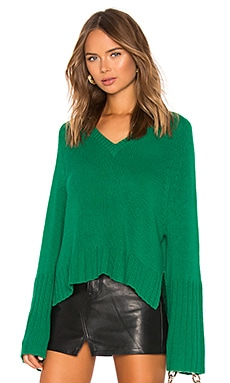Bell Sleeve V Neck Sweater Autumn Cashmere $286