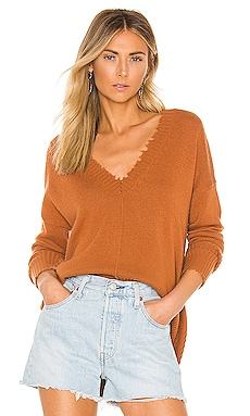 Distressed Edge Sweater Autumn Cashmere $81