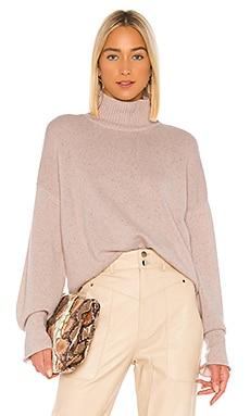 Boxy Mock Neck Sweater Autumn Cashmere $385
