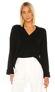 Boxy V Wide Sleeve Sweater Autumn Cashmere $146