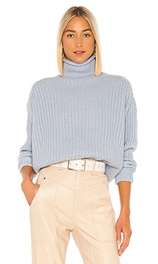 Chunky Shaker Mock Neck Sweater Autumn Cashmere $374