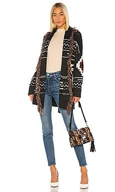 Fringe Belted Jacket Autumn Cashmere $682