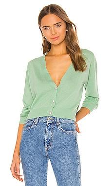 X REVOLVE Embellished Cropped Cardigan Autumn Cashmere $215