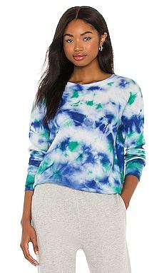 Tie Dye Crew Sweater Autumn Cashmere $117