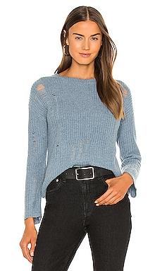 Distressed Shaker Crew Sweater Autumn Cashmere $58 (FINAL SALE)