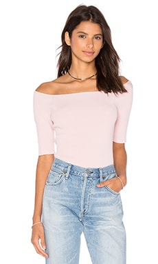 Off Shoulder Crop Top en Ballerina
