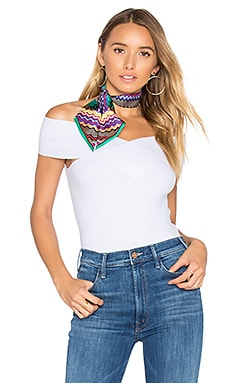 Criss Cross Off Shoulder Top