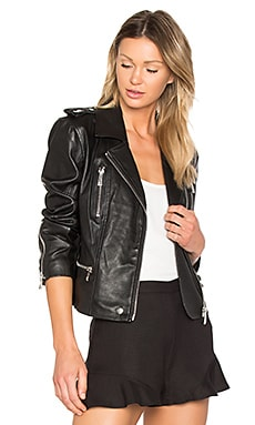 Moto Jacket in Black