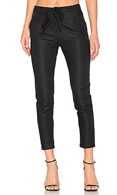 Paper Bag Pant in Black