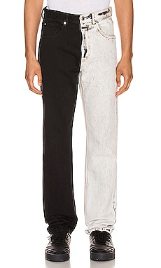 Bicolor Denim Trouser Alexander Wang $347