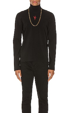 Turtleneck w/ Embroidered Flip Girl Alexander Wang $298