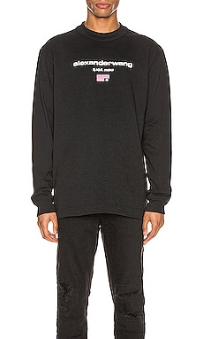 Long Sleeve Graphic Tee Alexander Wang $295 NEW ARRIVAL