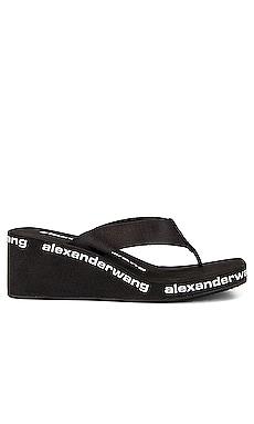 CHANCLAS CON CUÑA AW Alexander Wang $150