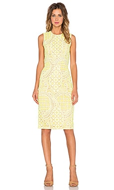 Alexis Anthea Lace Midi Dress in Aurora