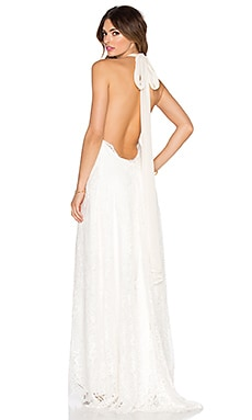 x REVOLVE Avril Gown in Cream