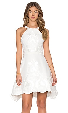 Valeria Dress in White