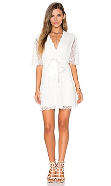 Alexis Belinda Dress in Off White