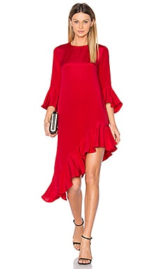 Hazel Dress en Rouge