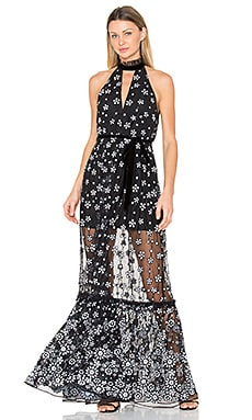 Florence Gown in Black Sequin