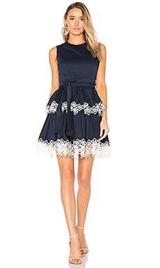 Desiree Dress in Navy
